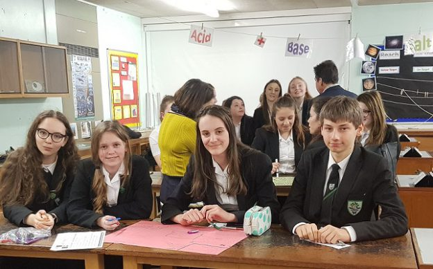 Woodrush High students enjoy Enterprise day