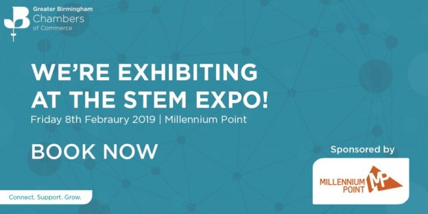 Aardvark Marketing Consultants | Join us at the Birmingham Chamber STEM Expo