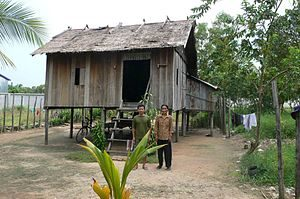 Aardvark Marketing Consultants |Traditional Cambodian house on stilts