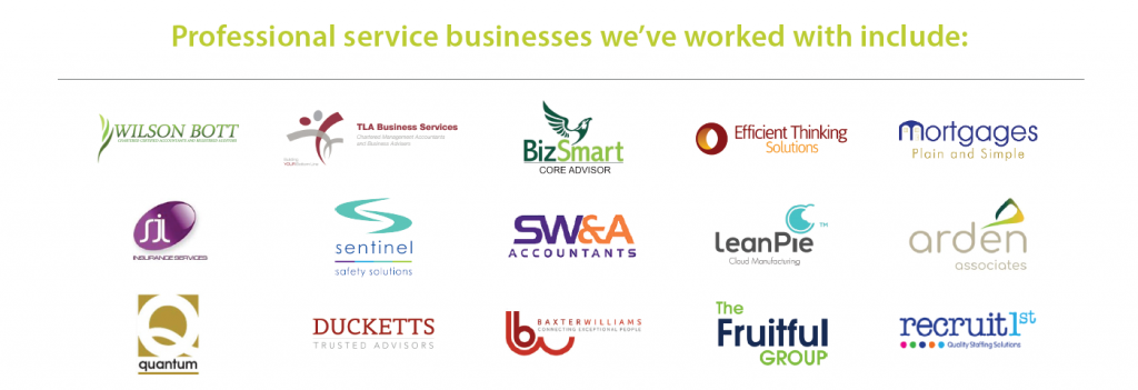 Aardvark Marketing Consultants | Professional service businesses we've worked with