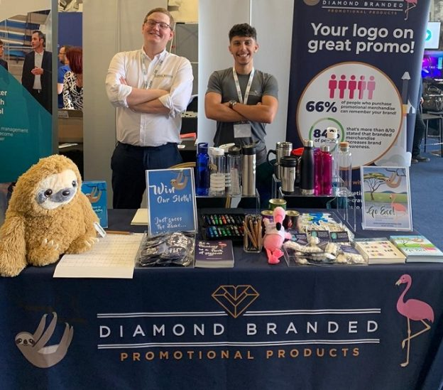 Members of the Diamond Branded team