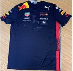 Aardvark Marketing Consultants | Image of a Signed Red Bull Formula One shirt