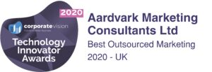Aardvark Marketing Consultants | Technology Innovator awards 2020- Best Outsourced Marketing