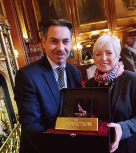 Aardvark Marketing Consultants | The Connection and Dreams Wishes charity at the Houses of Parliament